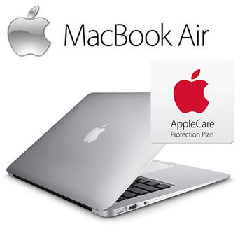 【Apple】Macbook Air 11.6 吋 4G 128G i5 雙核心1.6GHz 三年保固組 (MJVM2TA+MD015TA)
