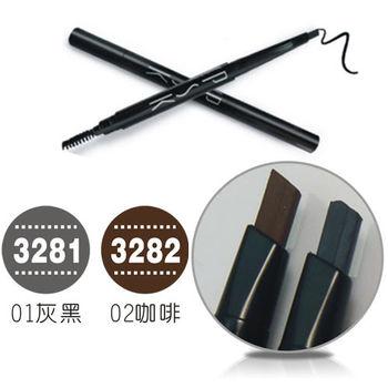 butyshop刀型眉筆(0.25g)-01灰黑