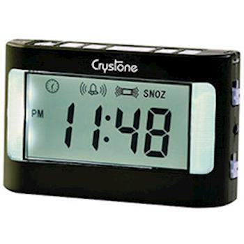 樂齡系列【Crystone】攜帶型震動鬧鐘NT-903(僅適用電池)