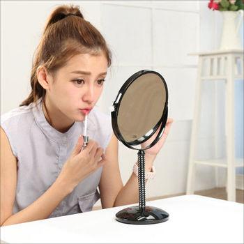 BuyJM 酷黑水晶雙面2.5倍化妝鏡/桌鏡