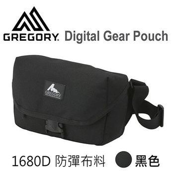 【美國Gregory】Digital Gear Pouch日系單眼相機側背包-黑色1680D防彈表布