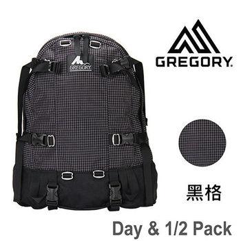 【美國Gregory】Day1/2 Pack日系休閒後背包33L-黑格