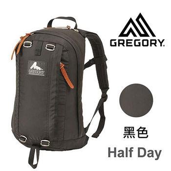 【美國Gregory】Half Day日系休閒後背包19L-黑色