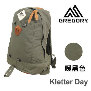 【美國Gregory】Kletter Day日系休閒後背包19.7L-暖黑色