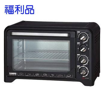 【福利品】聲寶 35L油切旋風電烤箱 KZ-PA35C