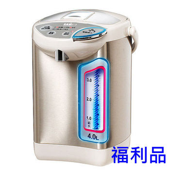 【福利品】聲寶 4L電動熱水瓶 KP-YB40M