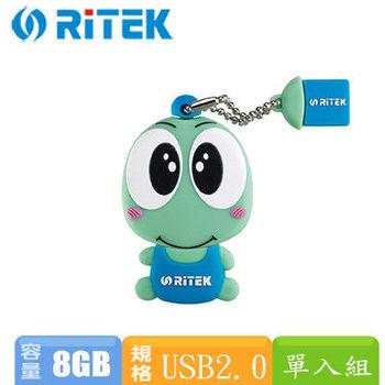 錸德RiTEK 吉祥物TOPY化身隨身碟 8GB