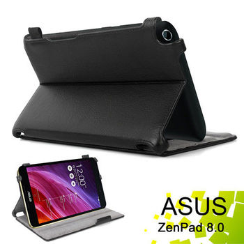 華碩 ASUS ZenPad 8.0 Z380C Z380KL 專用薄型可手持帶筆插平板電腦皮套 保護套