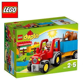 樂高【LEGO】得寶系列 L10524 農場拖拉機
