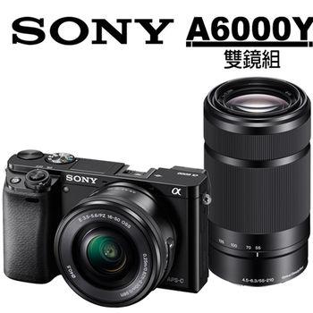 [64G電池組]SONY A6000 16-50mm+55-210mm (A6000Y)(公司貨)