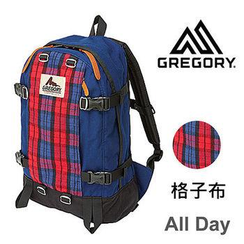 【美國Gregory】All Day日系休閒後背包22L-格子布