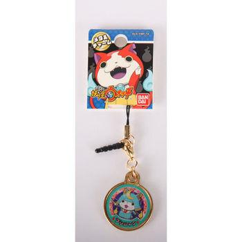 妖怪手錶金牌吊飾 武士喵