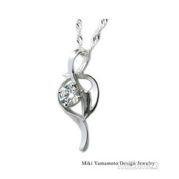 【山本美樹】幸符 奧地利水晶純銀項鍊