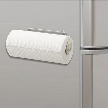 日本LEC磁吸式不鏽鋼紙巾架