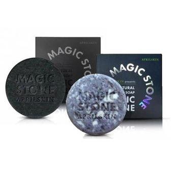 韓國 APRILSKIN-MAGIC STONE天然魔法石潔顏皂(100g)