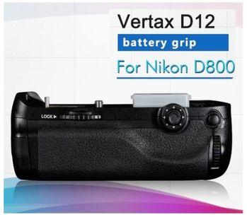 Pixel Vertax D12品色相機電池手把 For Nikon D810, D810A,D800