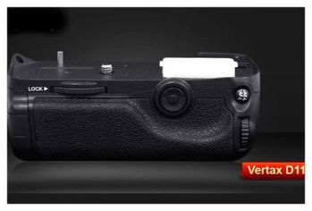 Pixel Vertax D11品色相機電池手把 For Nikon D7000 高階快門按鍵,矽膠撥盤,多向按鈕
