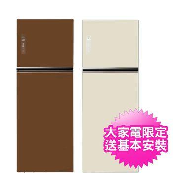 ★加碼贈好禮★Panasonic國際牌 485L頂級無邊框變頻電冰箱 NR-B487TG