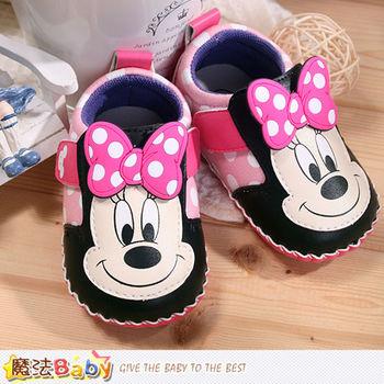 魔法Baby~寶寶鞋 米奇授權專櫃正品寶寶外出鞋~sh7629