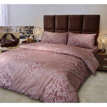 【Victoria】花嫁  純棉雙人床包+枕套三件組