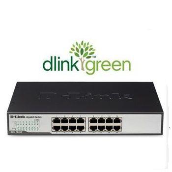 【D-LINK 友訊】DGS-1016D 16埠10/100/1000Mbps 連接埠Gigabit節能型交換器