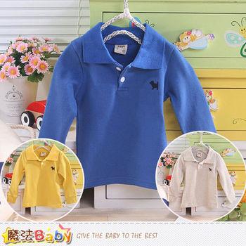 魔法Baby~嬰幼兒長袖POLO衫~k43501