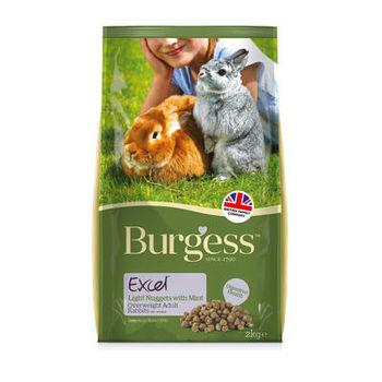 【Burgess】伯爵 高機能兔飼料 - 減肥兔 2公斤 X 1包