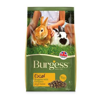 【Burgess】伯爵 高機能兔飼料 - 成兔(奧勒岡葉) 2公斤 X 1包