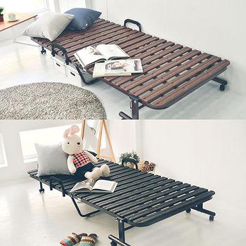 舒適屋 日系多功能透氣可移動式摺疊床/摺床
