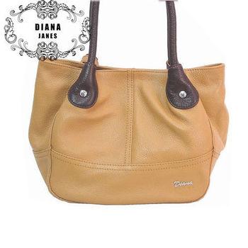 【Diana Janes 黛安娜】双色水桶包