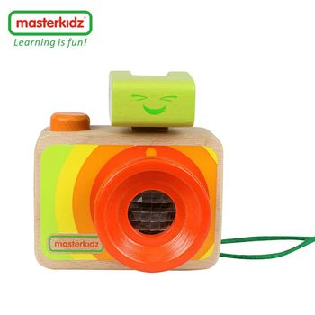 [ Masterkidz ] 木製彩虹照相機玩具