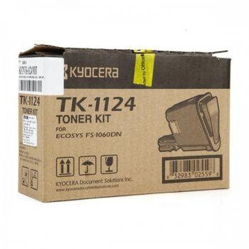 Kyocera TK-1124 原廠黑色碳粉匣