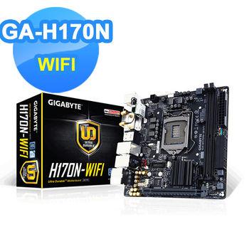 【GIGABYTE技嘉】GA-H170N-WIFI 主機板