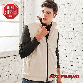 【Fox Friend】WINDSTOPPER 輕薄防風保暖背心(0612)
