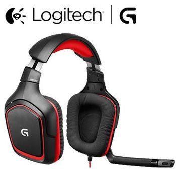【Logitech 羅技】G230立體聲遊戲耳機麥克風