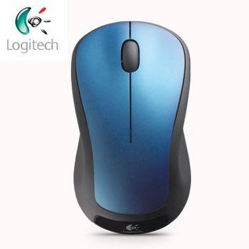[4入組]【Logitech 羅技】M310t 無線雷射滑鼠(銀黑/藍)