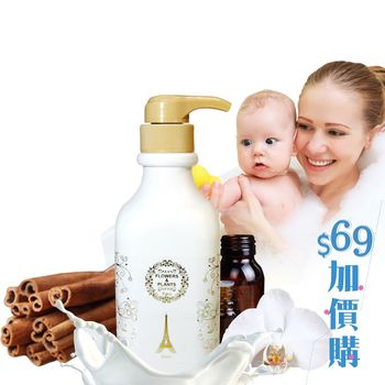 【愛戀花草】山羊奶 ★ 白檀香回春滋潤沐浴乳 500ML