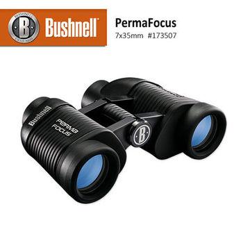 【美國 Bushnell 倍視能】PermaFocus免調焦系列 7x35mm 免調焦型雙筒望遠鏡 #173507 (公司貨)