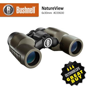 【美國 Bushnell 倍視能】NatureView自然系列 6x30mm 中型防水雙筒望遠鏡 #220630 (公司貨)