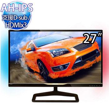 【PHILIPS 飛利浦】 278C4QHSN 27型IPS寬液晶螢幕顯示器