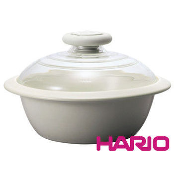 HARIO IH電磁爐土鍋經典白2000ml MNI-225KW