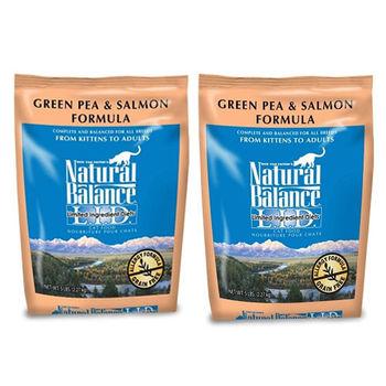 【Natural Balance】低敏-無穀青豌豆鮭魚-全貓 5磅 X 2包