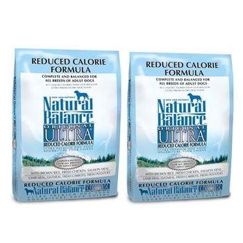 【Natural Balance】特級成犬低卡專用配方 5磅 X 2包