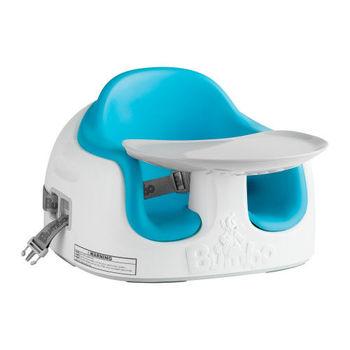 南非BUMBO 多功能幫寶椅(餐椅、幼兒座椅)-藍色