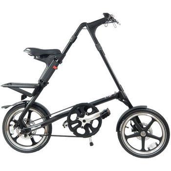 STRiDA 速立達 16吋LT折疊單車(碟剎) 平光黑-年度外銷版