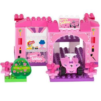 【德國BIG】BOBBY-CAR積木遊戲組/夢幻城堡