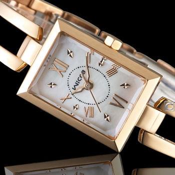 星辰 CITIZEN WICCA 玩美蜜糖魅力腕錶 BE1-020-11 玫瑰金色
