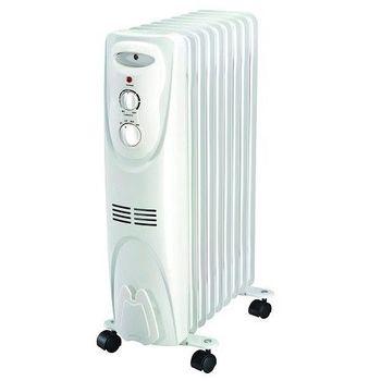 【Wihrlpool 惠而浦】3-6坪 WORM09W 葉片式電暖器 (機械式)