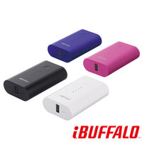 BUFFALO 充電 5200 mAh 2.1A 行動電源