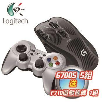 【Logitech 羅技】 F710無線遊戲控制器